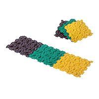 Массажный коврик - пазл, 1 модуль 'Орто. Шишки мягкие', цвета МИКС