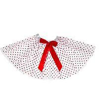 Карнавальная юбка 'Бантик', двухслойная