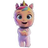 Шар фольгированный 14' 'Кукла' Cry Babies, мини-фигура (комплект из 5 шт.)