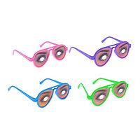 Карнавальные очки 'Девушка', цвета МИКС