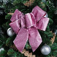 Бант праздничный 'Яркий', розовый, коричневый, 20 х 21 см