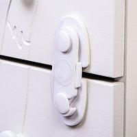 Блокиратор для дверей шкафов, цвет белый