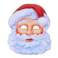 Маска карнавальная 'Санта Клаус' (комплект из 10 шт.)