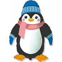 Шар фольгированный 39' 'Пингвин', фигура