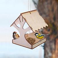 Кормушка для птиц 'Дерево', 18 x 16 x 15 см, Greengo