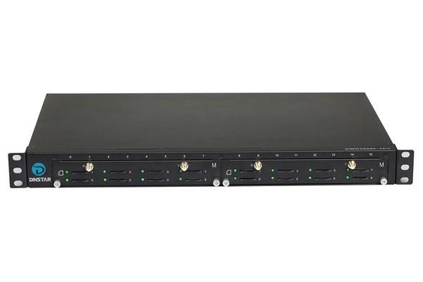 GSM VoIP шлюз Dinstar DWG2000F-8G-M с антенным сумматором