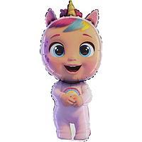Шар фольгированный 40' фигура 'Кукла Cry Babies' 1 шт.