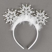 Карнавальный ободок 'Снежинка'