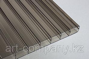 Поликарбонат 8мм Полигаль - Восток (Израиль-Россия) Стандарт 2.10м*6м, серый