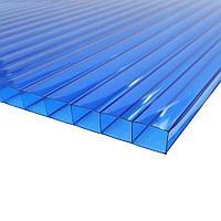 Поликарбонат 8мм Полигаль - Восток (Израиль-Россия) Стандарт 2.10м*6м, синий
