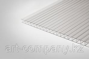 Поликарбонат 8мм Полигаль - Восток (Израиль-Россия) Стандарт 2.10м*12м, серебро