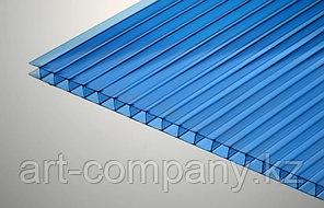 Поликарбонат 8мм Полигаль - Восток (Израиль-Россия) Стандарт 2.10м*12м, синий