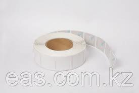 Антикражная Защитная Этикетка 40х40 мм, (белая), фото 2