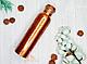 Медный сосуд с крышкой на резьбе, 1 литр, фото 3