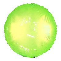Шар полимерный 18' 'Неон', круг, цвет зелёный (комплект из 5 шт.)