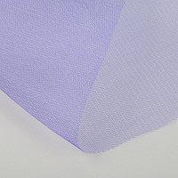 Фатин для свадебного декора, 0,5х0,5 м, фиолетовый (комплект из 2 шт.)