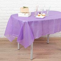Скатерть 'Праздничный стол', 137х183 см, цвет фиолетовый