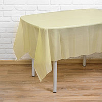 Скатерть 'Праздничный стол', 137х183 см, цвет лимонный
