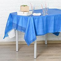 Скатерть 'Праздничный стол', 137 х 183 см, цвет синий