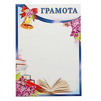 Грамота 'Школьная' книги (комплект из 20 шт.)