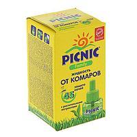 Дополнительный флакон-жидкость от комаров 'Picnic Family', с растительными экстрактами, 45 ночей, 30