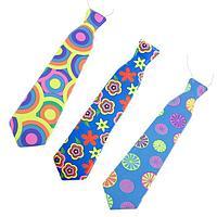 Карнавальный галстук 'Летний', набор 6 шт., виды МИКС