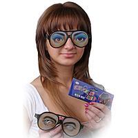 Карнавальные очки 'Глаза', мужские и женские, виды МИКС