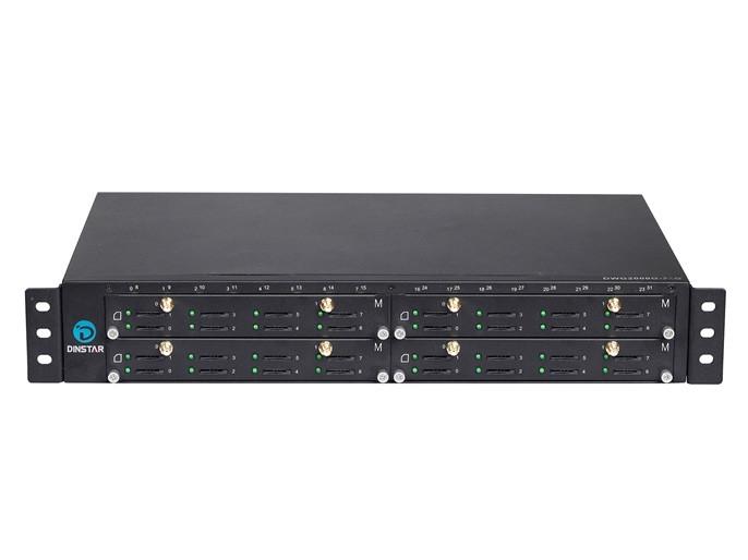 GSM VoIP шлюз Dinstar DWG2000G-32G