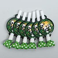 Карнавальный язычок 'Панда', набор 6 шт.