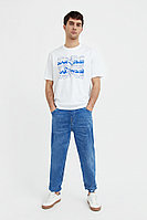Джинсы мужские Finn Flare, цвет голубой, размер W40L36