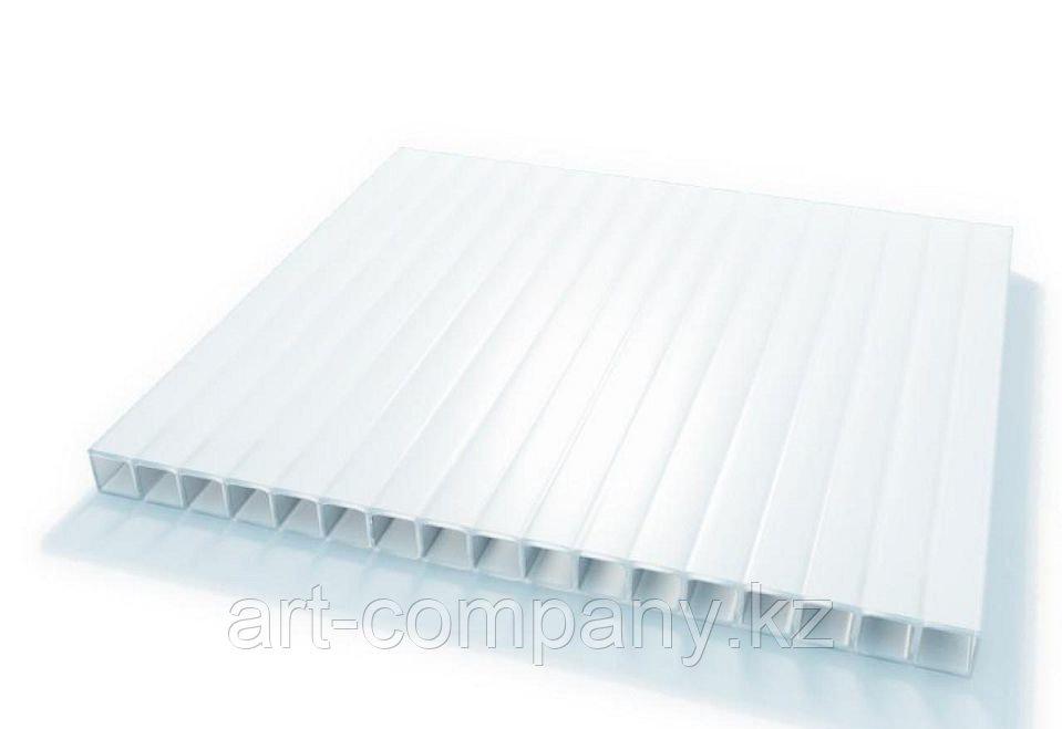Поликарбонат сотовый 10 мм белый