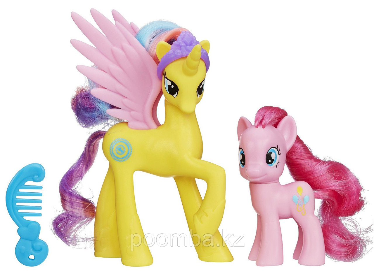 Мои маленькие пони Princess Gold Lily and Pinkie Pie