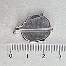 Брошь SOKOLOV серебро с родием, эмаль 94040189, фото 8