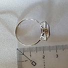 Кольцо SOKOLOV серебро с родием, гранат фианит  92011853 размеры - 16,5 17 18,5 19, фото 9