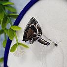 Кольцо SOKOLOV серебро с родием, раух-топаз 92011971 размеры - 17,5 18 18,5 19,5, фото 4