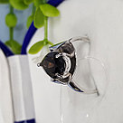 Кольцо SOKOLOV серебро с родием, раух-топаз 92011971 размеры - 17,5 18 18,5 19,5, фото 5