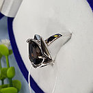 Кольцо SOKOLOV серебро с родием, раух-топаз 92011971 размеры - 17,5 18 18,5 19,5, фото 6