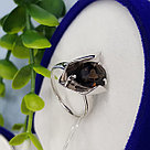 Кольцо SOKOLOV серебро с родием, раух-топаз 92011971 размеры - 17,5 18 18,5 19,5, фото 7