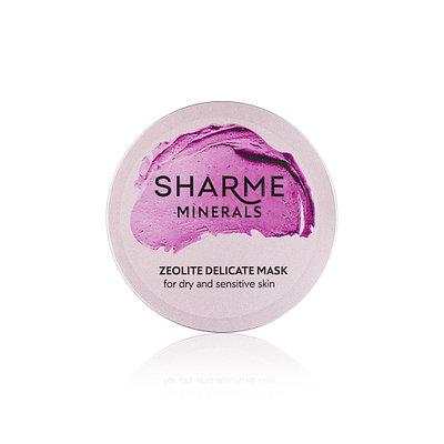 Цеолитовая деликатная маска для сухой и чувствительной кожи | Sharme 46гр