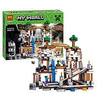 Конструктор Bela My World 10179 Шахта Майнкрафт (аналог LEGO 21118 Minecraft The Mine)