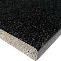 Столешница 3050х600х26 Черное Серебро