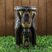 Интерьерный сувенир 'Слоник' дерево 22х22х40 см