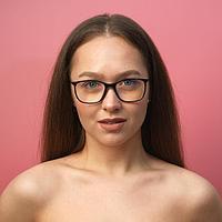 """Очки для компьютера женские """"Мастер К"""" линза 5.3х4.7 см, ширина 13 см, дужка 15 см"""