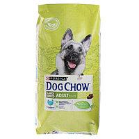Сухой корм DOG CHOW LARGE BREED для собак крупных пород, индейка, 14кг