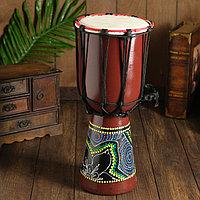 Музыкальный инструмент 'Барабан Джембе' 40х18х18 см