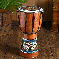 Музыкальный инструмент 'Барабан Джембе ящерица' 14x14x30 см