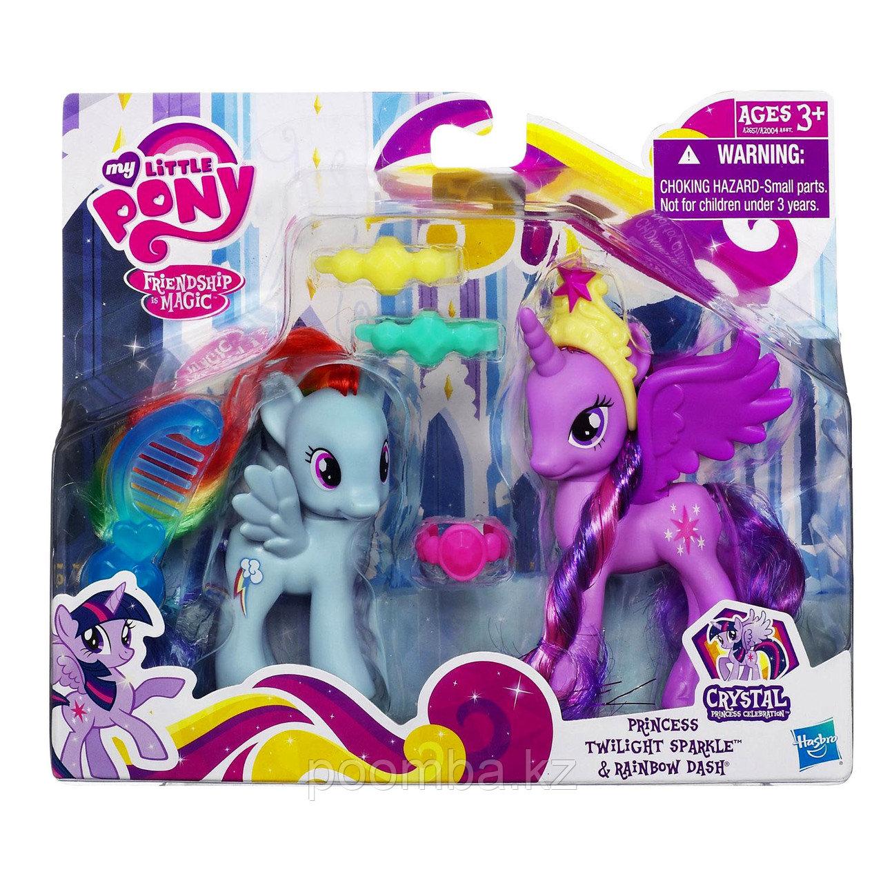 Мои маленькие пони Princess Twilight Sparkle и Rainbow Dash