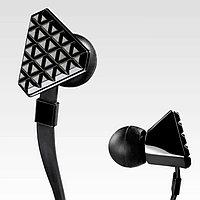 Наушники дизайн-мини стерео ( Черные )