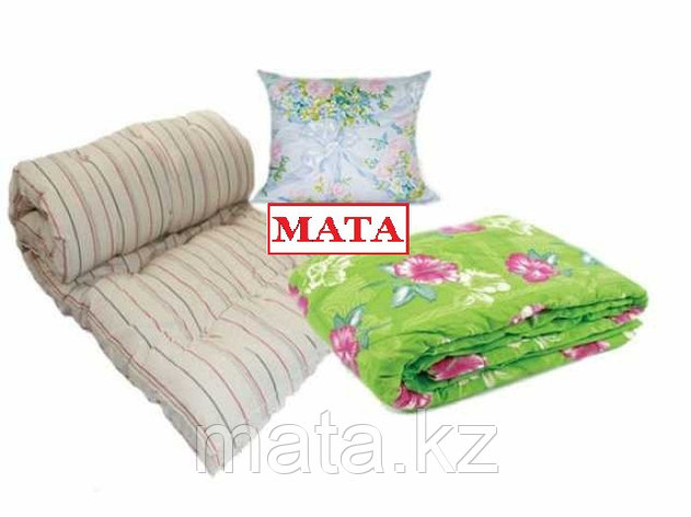 Рабочий комплект -матрас, одеяло, подушка, фото 2