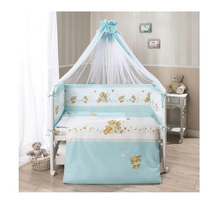 Комплект в кровать PERINA ФЕЯ Лето голубой Ф7-01.4